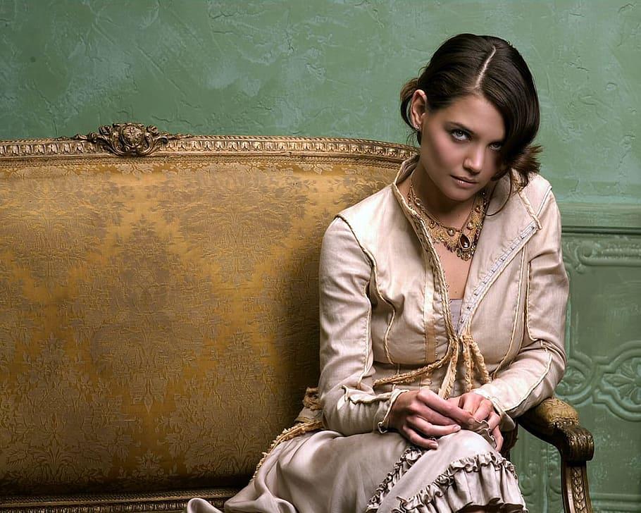 Katie Holmes e il suo caschetto